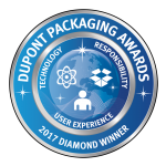 Diamond Award Winner at the 2017 DuPont Awards for Packaging Innovation