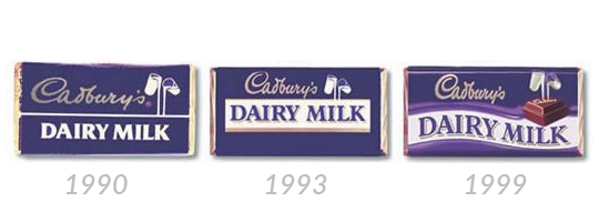 cadbury wrapper iconic packaging