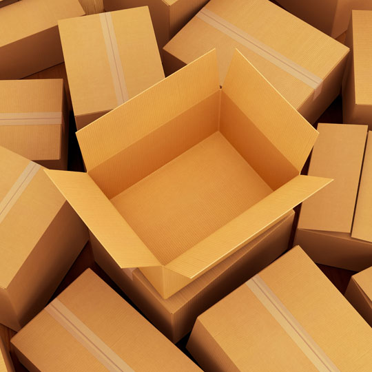 4. Corrugated Boxes