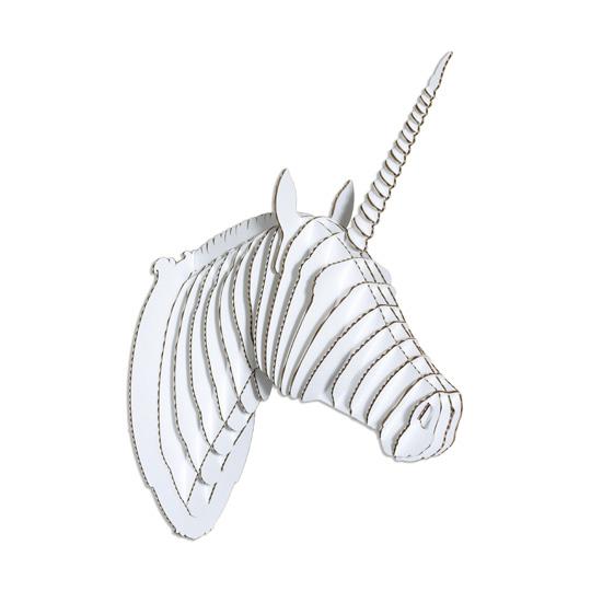 cardboard safari: merlin the unicorn