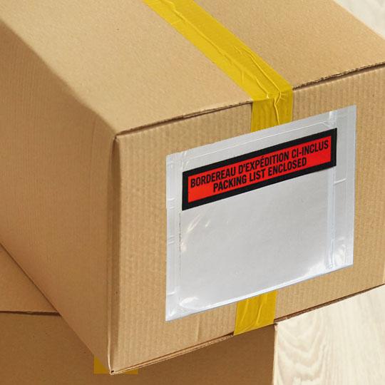 7. Packing Slip Envelopes