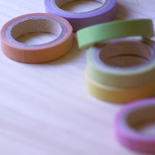 Colourful Packaging: Coloured Tape