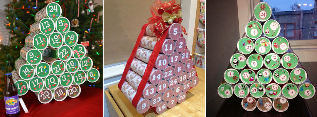 3 Versions of Build Your Own Advent Calendar