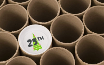 Build Your Own Advent Calendar with Mailing Tubes