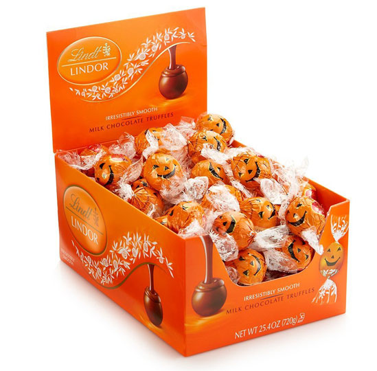Halloween Candy Packaging: Lindt Lindor