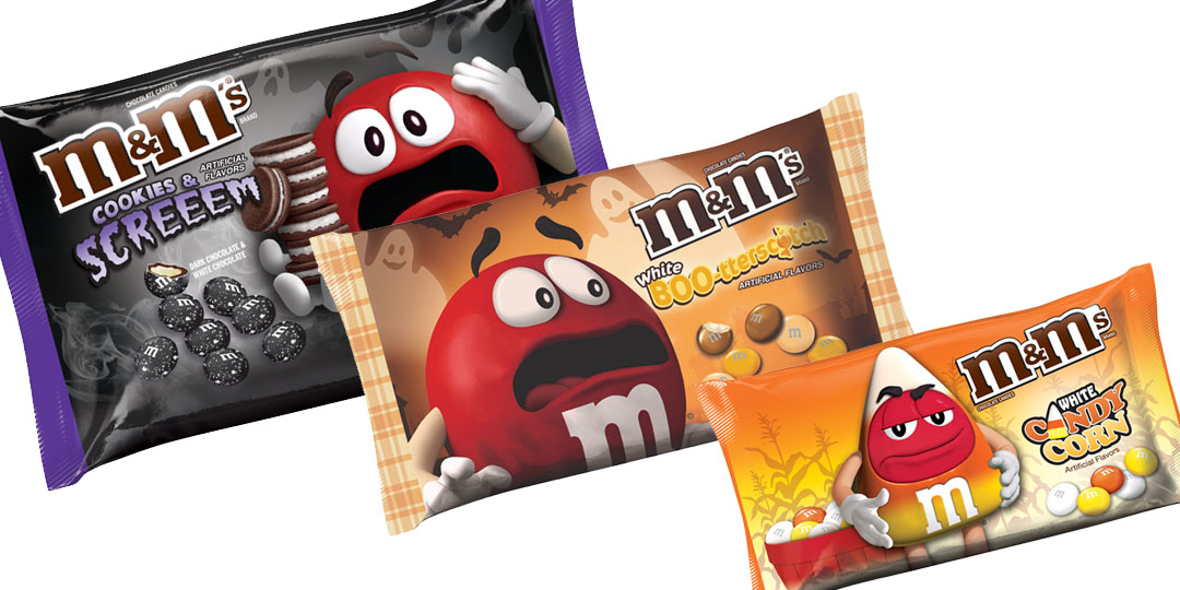 Halloween Candy Packaging: M&M's