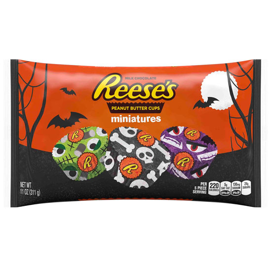 Halloween Candy Packaging: Reese's
