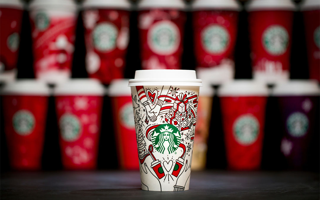 Iconic Packaging: Starbucks Holiday Cup