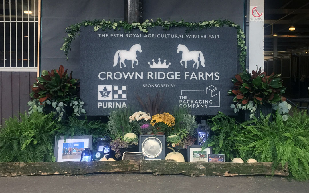 Crown Ridge Farms & The Packaging Company Steal the Show at The Royal Winter Fair