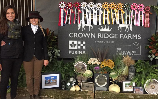 Crown Ridge Farms: Look at ALL those Ribbons!