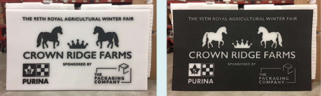 Crown Ridge Farms: Side-by-Side