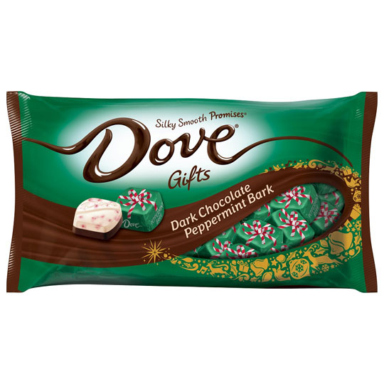 Christmas Candy Packaging: Dove