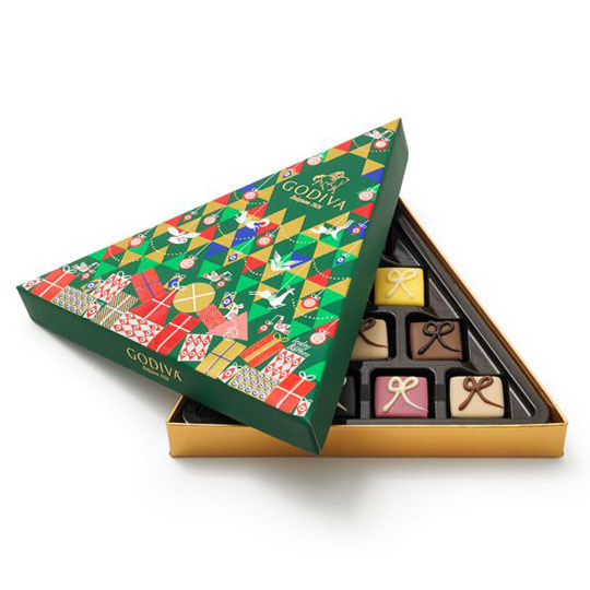 Christmas Candy Packaging: Godiva