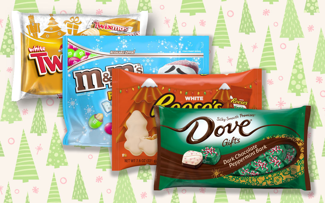 7 Festive Examples of Christmas Candy Packaging
