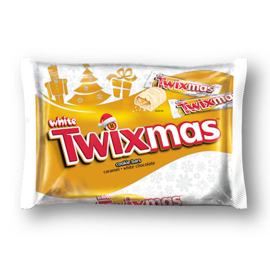 Christmas Candy Packaging: Twix