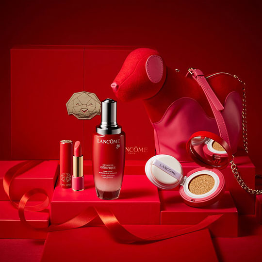 Chinese New Year Packaging: Lancome
