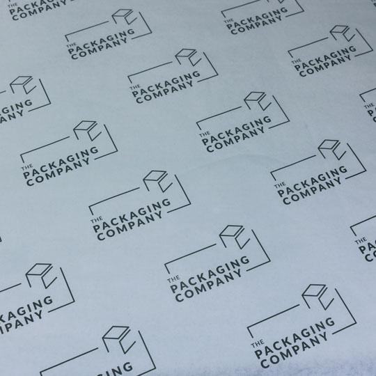 Custom Tissue Paper: Branding
