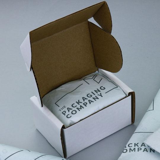 Custom Tissue Paper: Unboxing