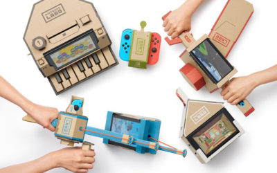 Fun With Packaging: Nintendo Labo