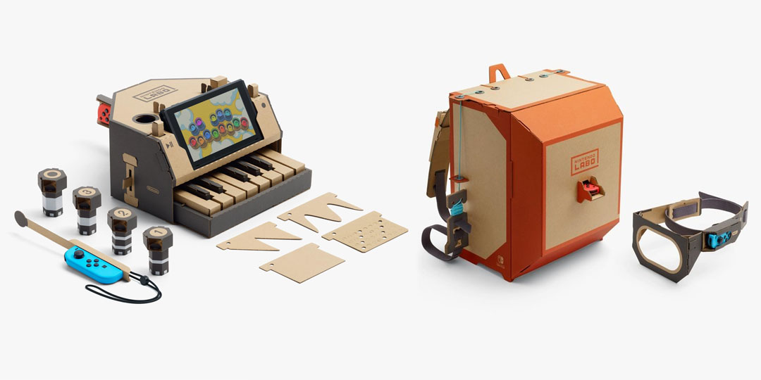 Fun With Packaging: Piano & Backpack