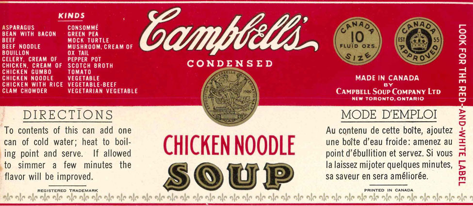 Iconic Packaging: Campbell's Soup - The Packaging Company