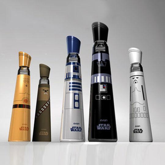 Star Wars Packaging: Water Bottles
