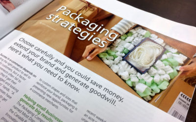 We've been featured in Delivering the Online World!