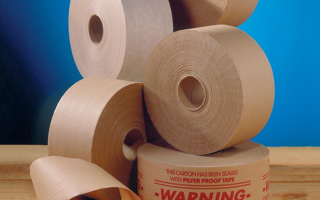 4 Reasons for Adding Water-Activated Tape to Your Packaging