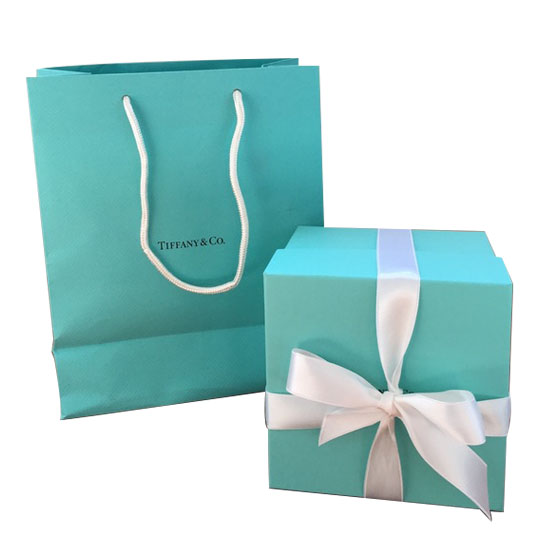Iconic Packaging: Tiffany Blue Box & Shopping Bag