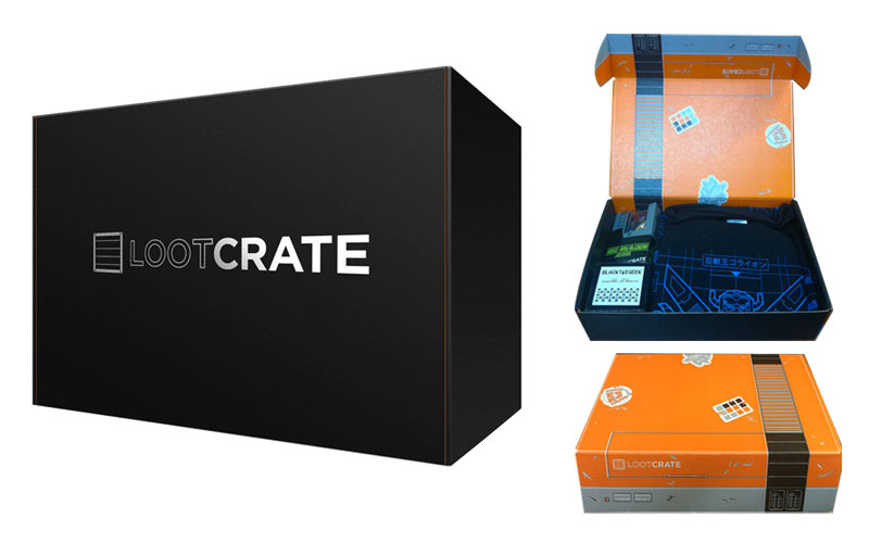 Unboxing Experience Examples - Loot Crate