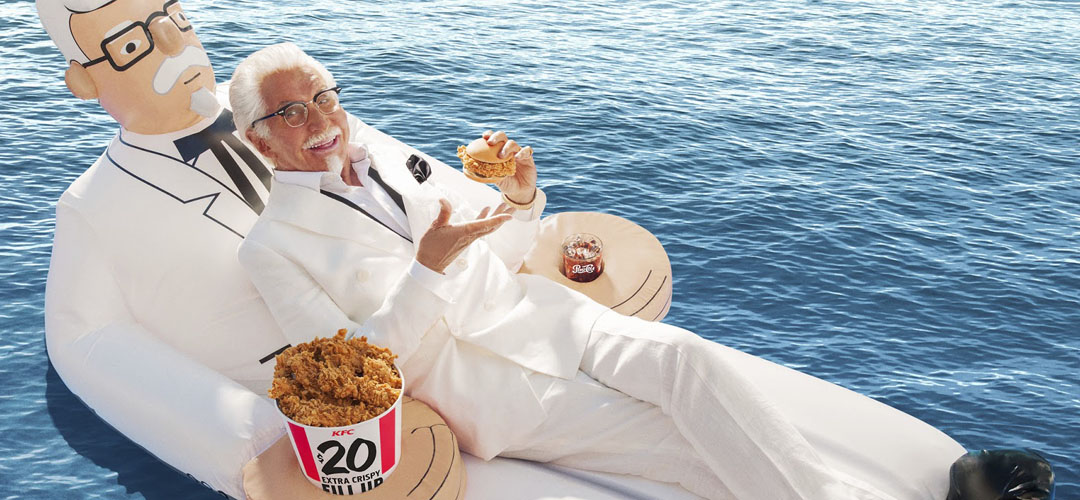 Iconic Packaging: KFC Pool Mattress