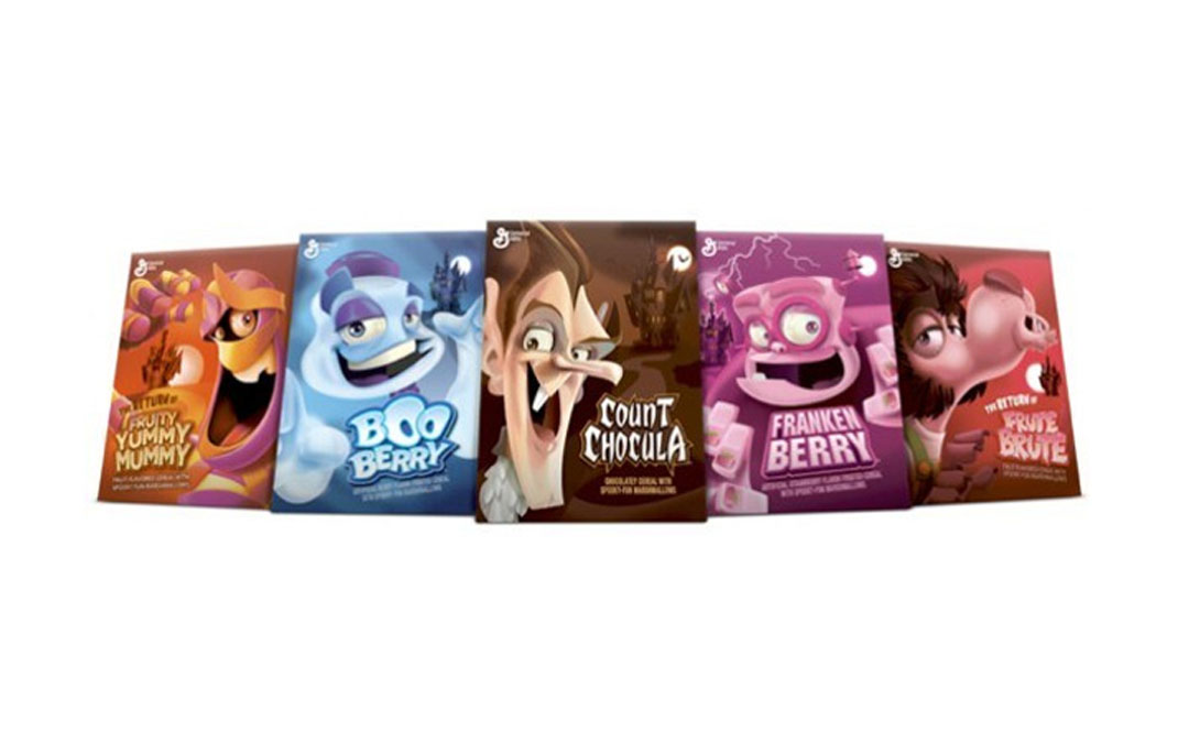 5 Spooktacular Examples of Halloween Cereal Packaging