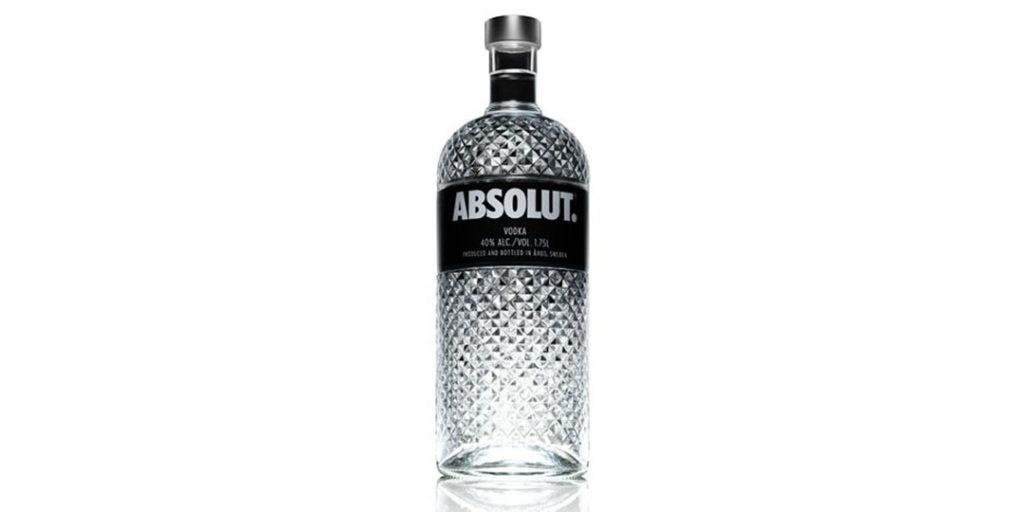 Holiday Alcohol Packaging: Absolut Spark