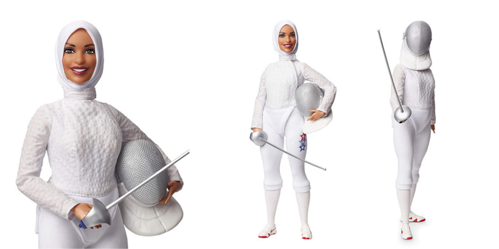 Iconic Packaging: Barbie - Ibtihaj Muhammad
