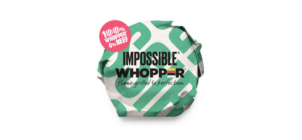 Burger King Whopper: Impossible Whopper