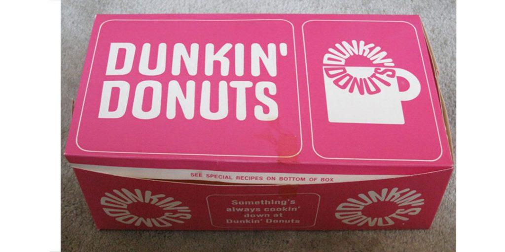 Dunkin Donuts: Retro Pink