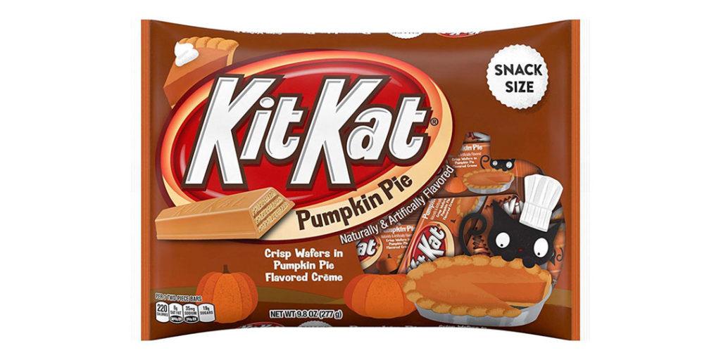 Pumpkin Spice Packaging: Kit Kat