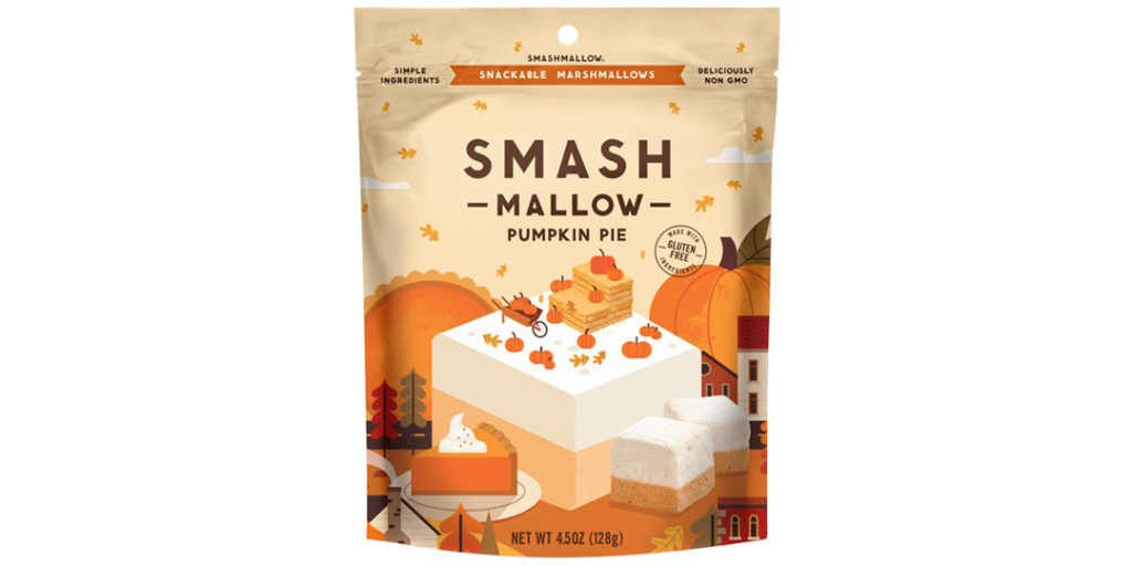 Pumpkin Spice Packaging: Smashmallow