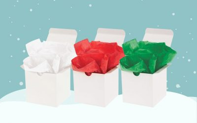 How to Use Tissue Paper in Your Holiday Packaging