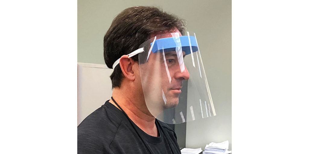 Social Distancing Supplies: Protective Face Shields