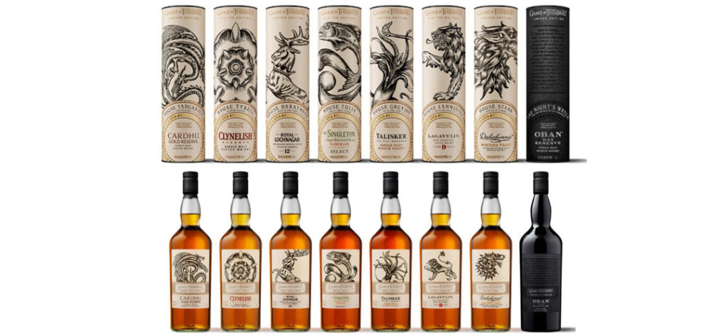 Iconic Packaging: Johnnie Walker - The Game of Thrones Single Malt Scotch Whisky Collection