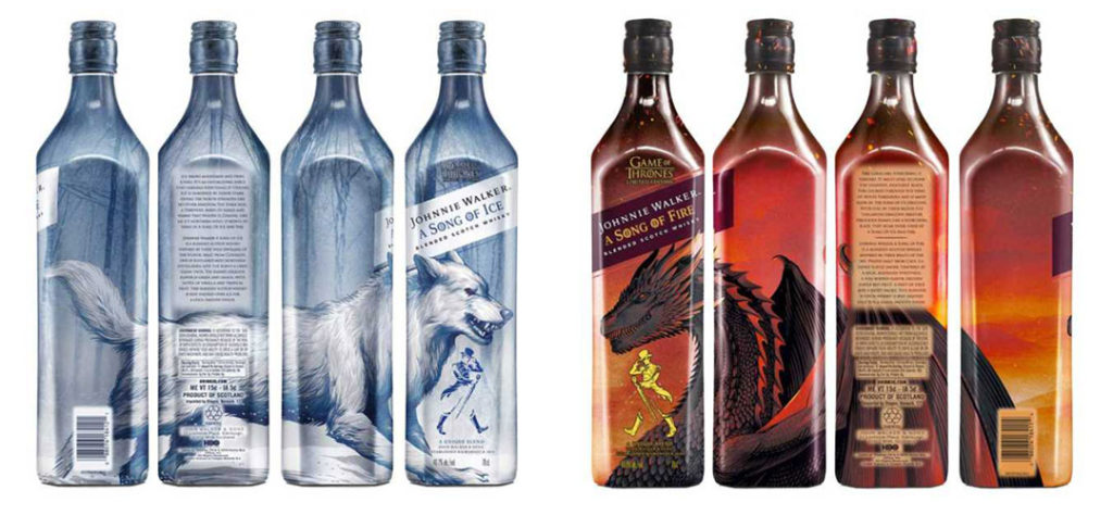 Iconic Packaging: Johnnie Walker - A Song of Ice & Fire Collection