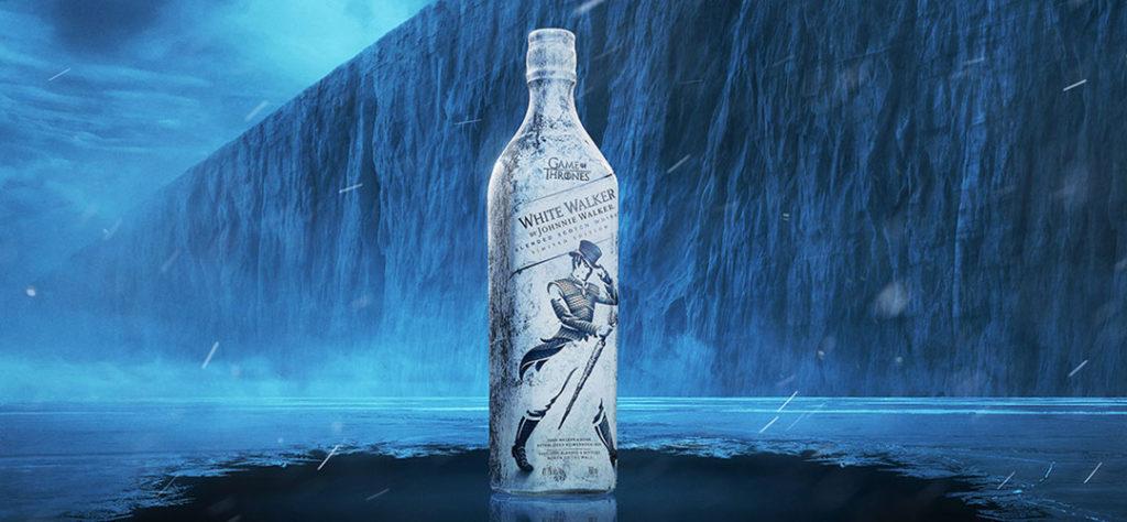 Iconic Packaging: Johnnie Walker - White Walker Bottle