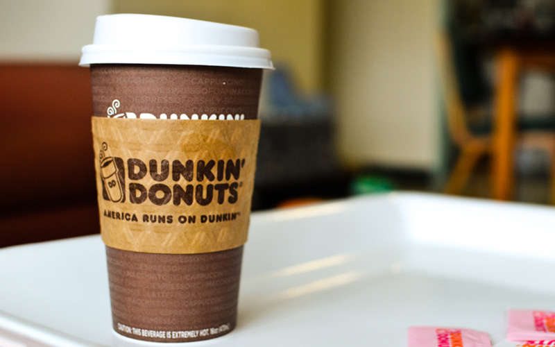 Coffee Cup Sleeves - Dunkin Donuts