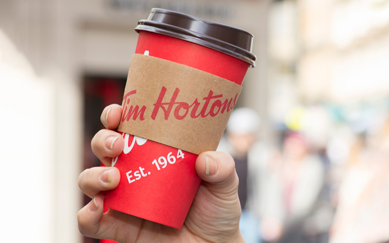 Coffee Cup Sleeves - Tim Hortons