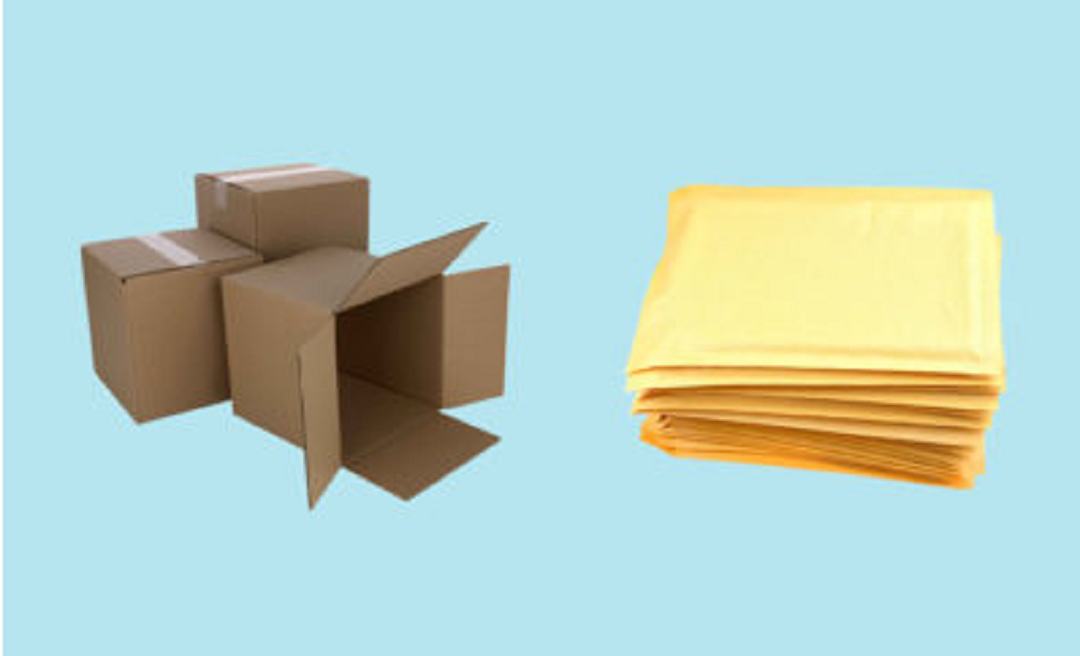 When Should You Use Boxes or Envelopes for Packaging