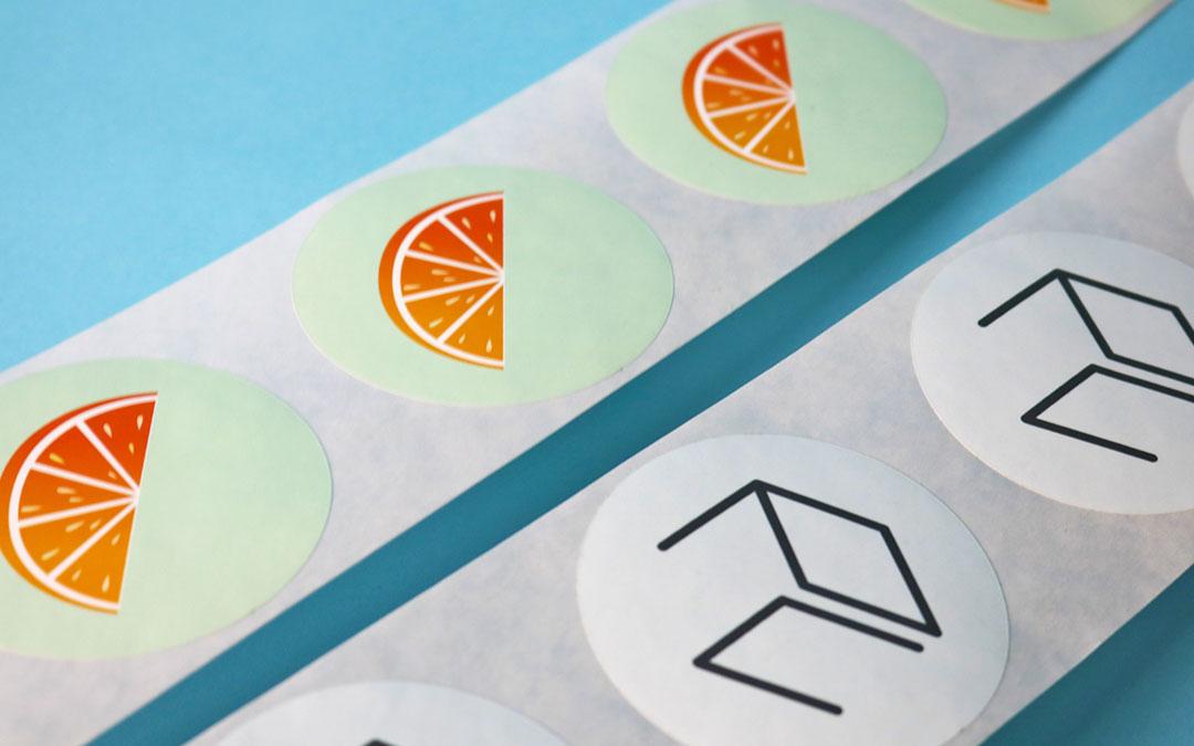 Stickers vs Labels: Labels