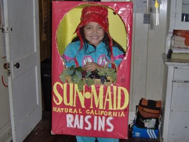 California Raisins Costume