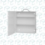 First Aid Metal Cabinet  with 3 Shelves