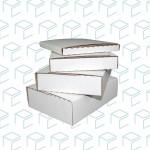 White EZ Fold Mailer - 7.5